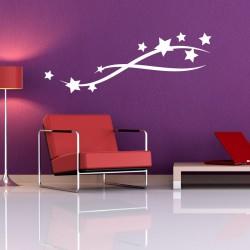 Sticker Étoiles volantes décoration