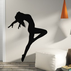 Sticker Danseuse acrobate