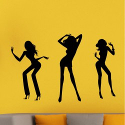 Sticker trois danseuses