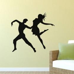 Sticker Couple Danseurs Opéra