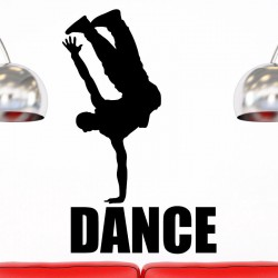 Sticker danseur de hip-hop