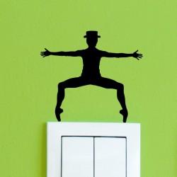 Sticker danseurs de jazz