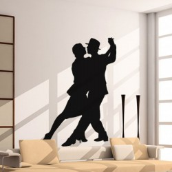 Sticker Couple de danseurs de tango