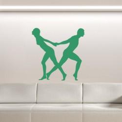 Sticker Danseurs en mouvement