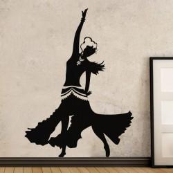 Sticker Danseuse de Tango