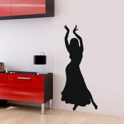 Sticker Danseuse salsa