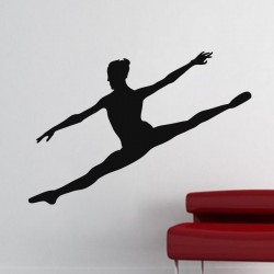 Sticker Danseuse sautant