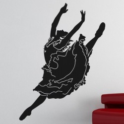 Sticker Danseuse souple