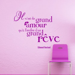 Sticker Grand amour - Edmond R.