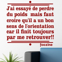 Sticker citation de Foozine