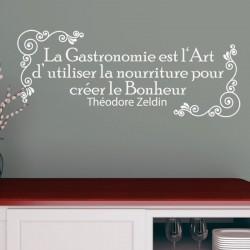 Sticker La gastronomie de Théodore Zeldin