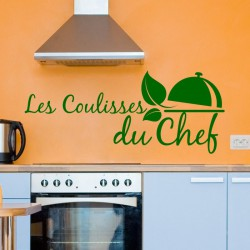 Sticker Les coulisses du chef
