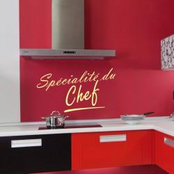 Sticker Specialité du chef