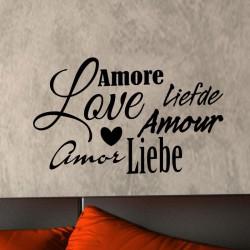 Sticker Amour multilangues