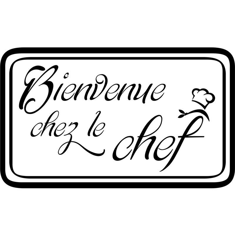 Daftar Harga Sticker Cuisine Bienvenu Chez Le Chef Stickers