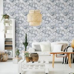 Stickers matériaux pierres des Vosges - 40 x 40 cm