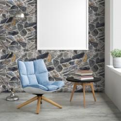 Stickers pierres d'antan - 40 x 40 cm