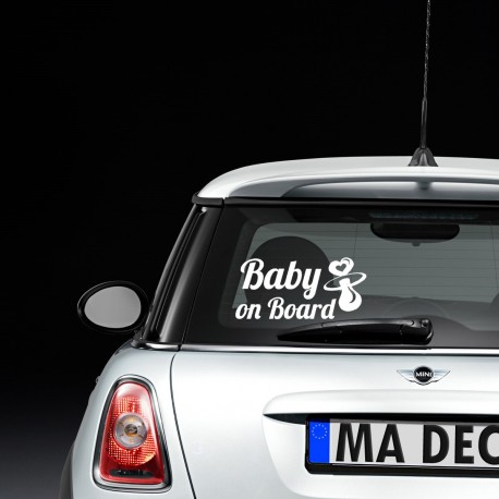Baby on board Tétine