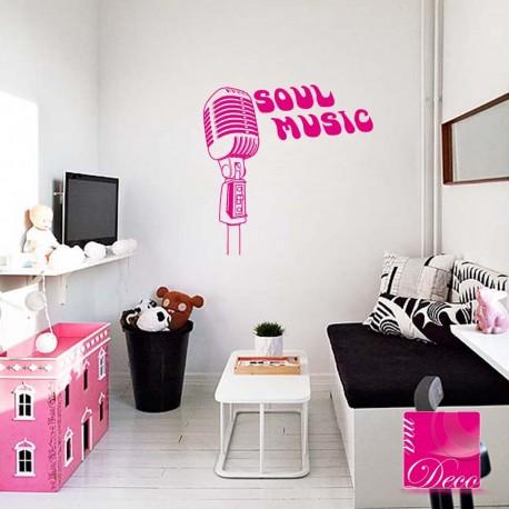 Sticker Soul Music