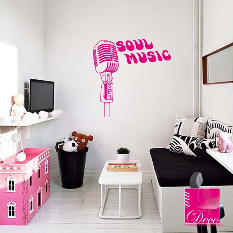 trendy sticker soul music with stickers islam enfant. Black Bedroom Furniture Sets. Home Design Ideas
