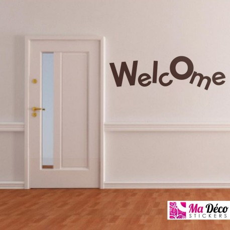 Sticker Welcome