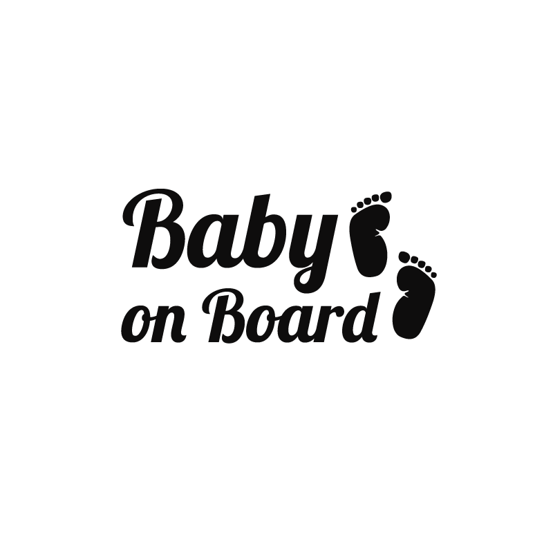 baby on board cheap wall stickers discount wall stickers madeco stickers. Black Bedroom Furniture Sets. Home Design Ideas