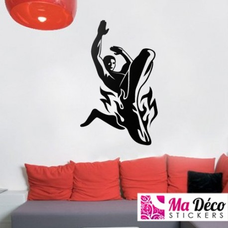 Sticker bain cheap wall stickers discount wall - Sticker carrelage salle de bain ...