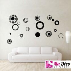 Sticker Flower Circle