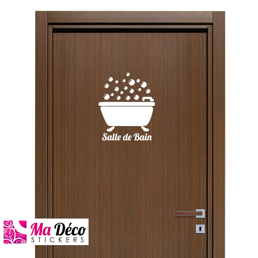 Mb Expert Meuble Salle De Bain ~ Stickers Bathroom Madeco Stickers