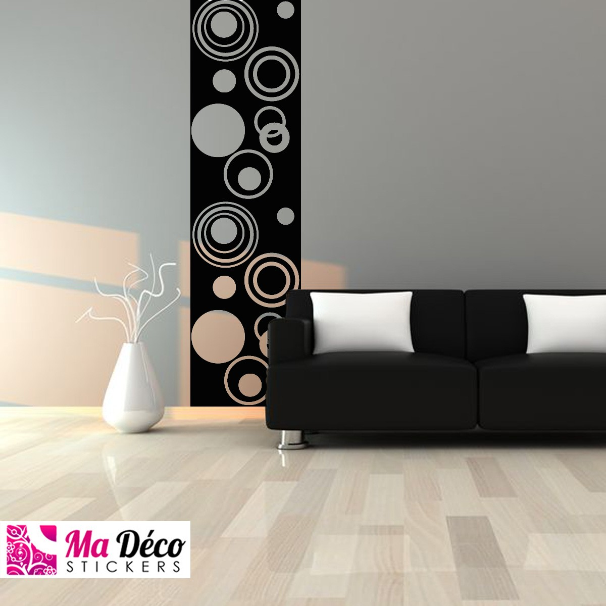 papierpeint9 stickers sur papier peint. Black Bedroom Furniture Sets. Home Design Ideas