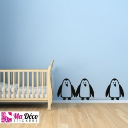 Stickers pinguins