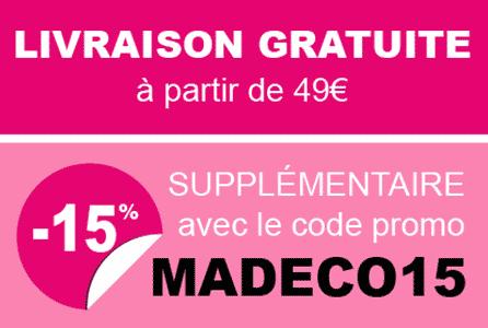 Livraison gratuite 49€